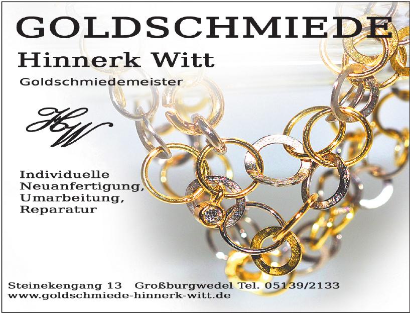 Goldschmiede Hinnerk Witt