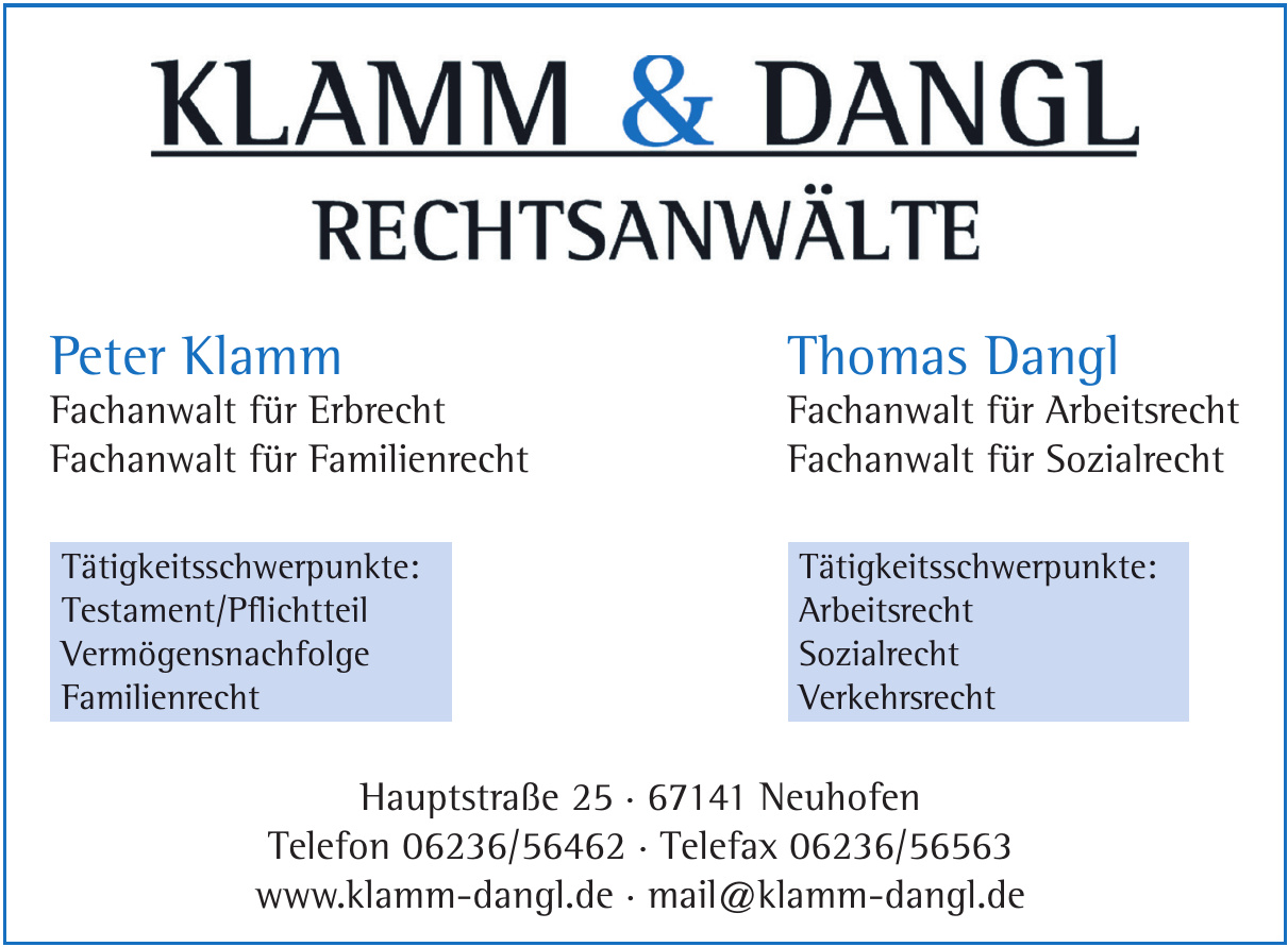 Klamm & Dangl