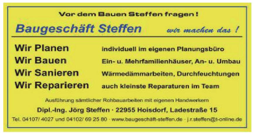 Baugeschäft Steffen