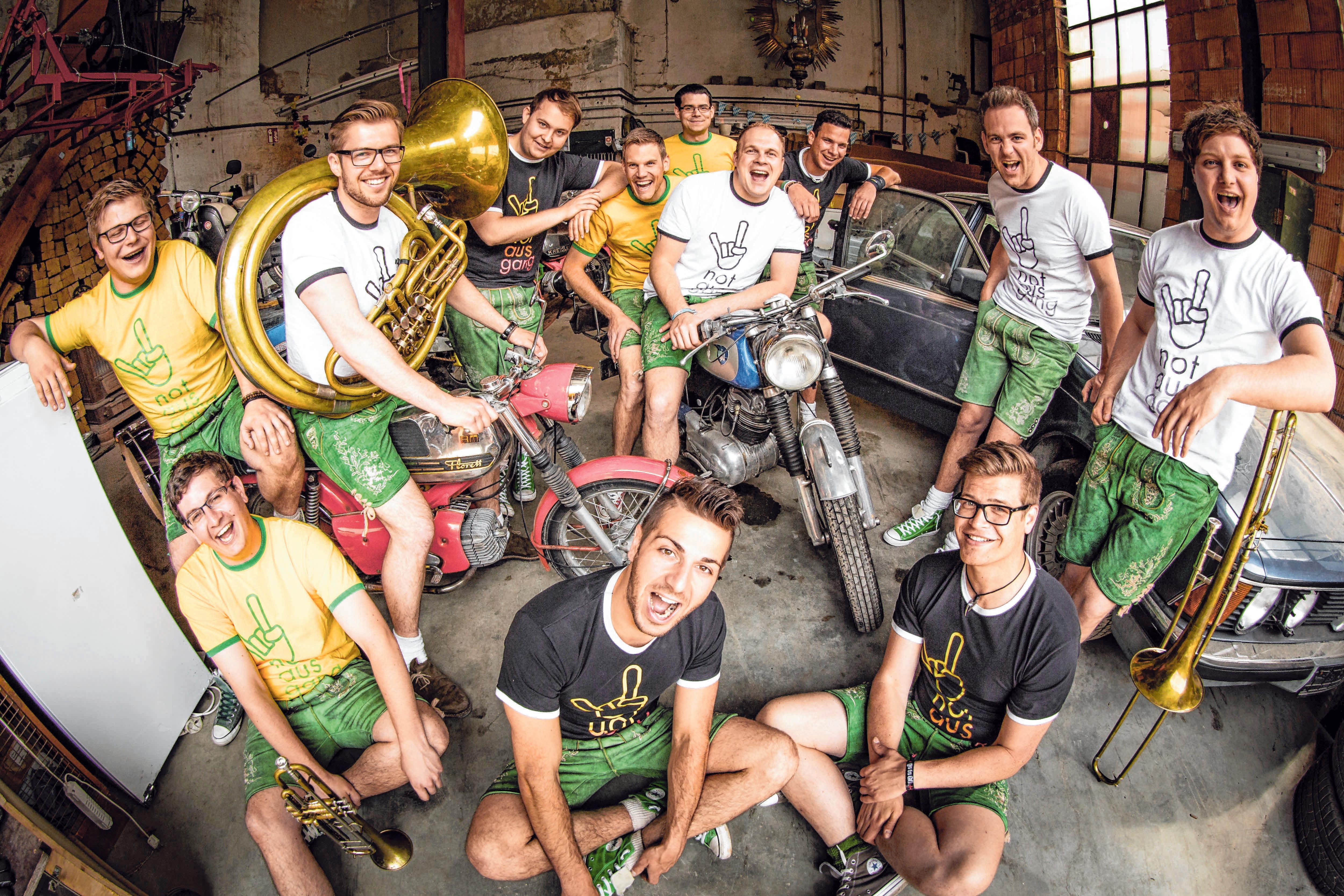 """Die Band """"Notausgang"""" wird das Festzelt in Feldhausen rocken. FOTO: T. EPP"""