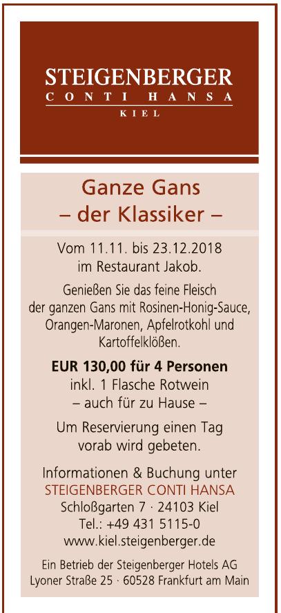 Steigenberger Conti Hansa