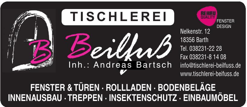Tischlerei Beilfuß Inh. Andreas Bartsch