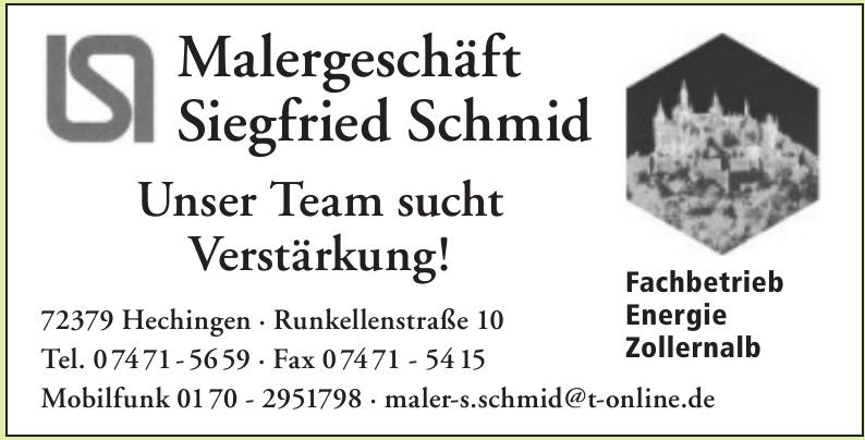 Malergeschäft Siegfried Schmid