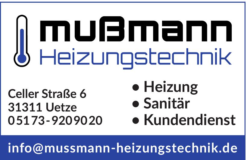 Mußmann Heizungstechnik
