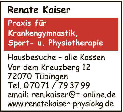 Physiotherapie / Krankengymnastik Renate Kaiser