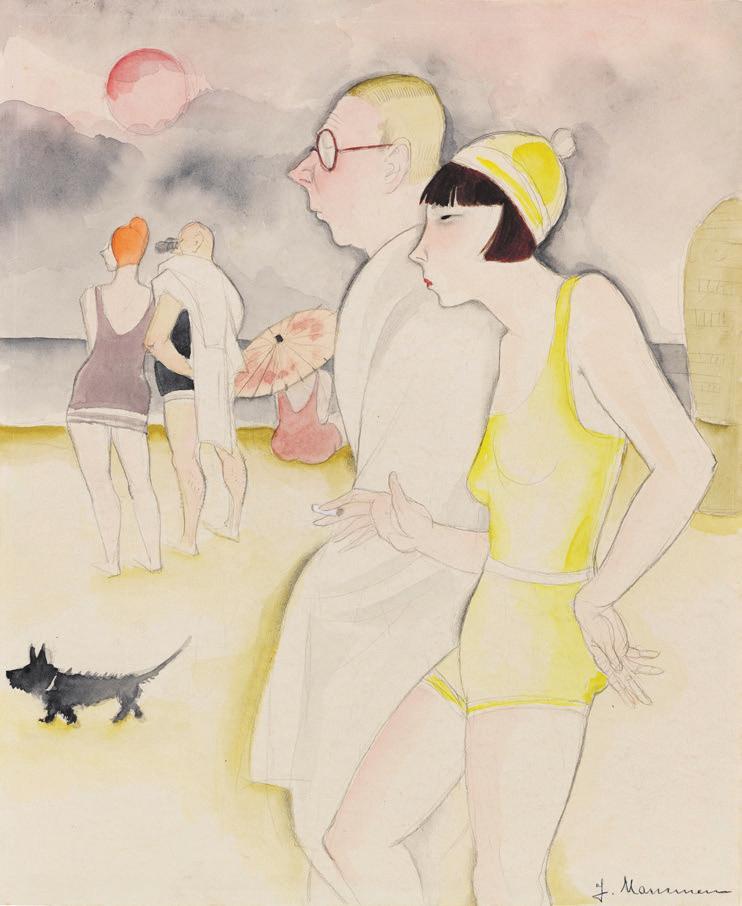 Jeanne Mammen, Ausweg, 1930. Foto: Ketterer Kunst