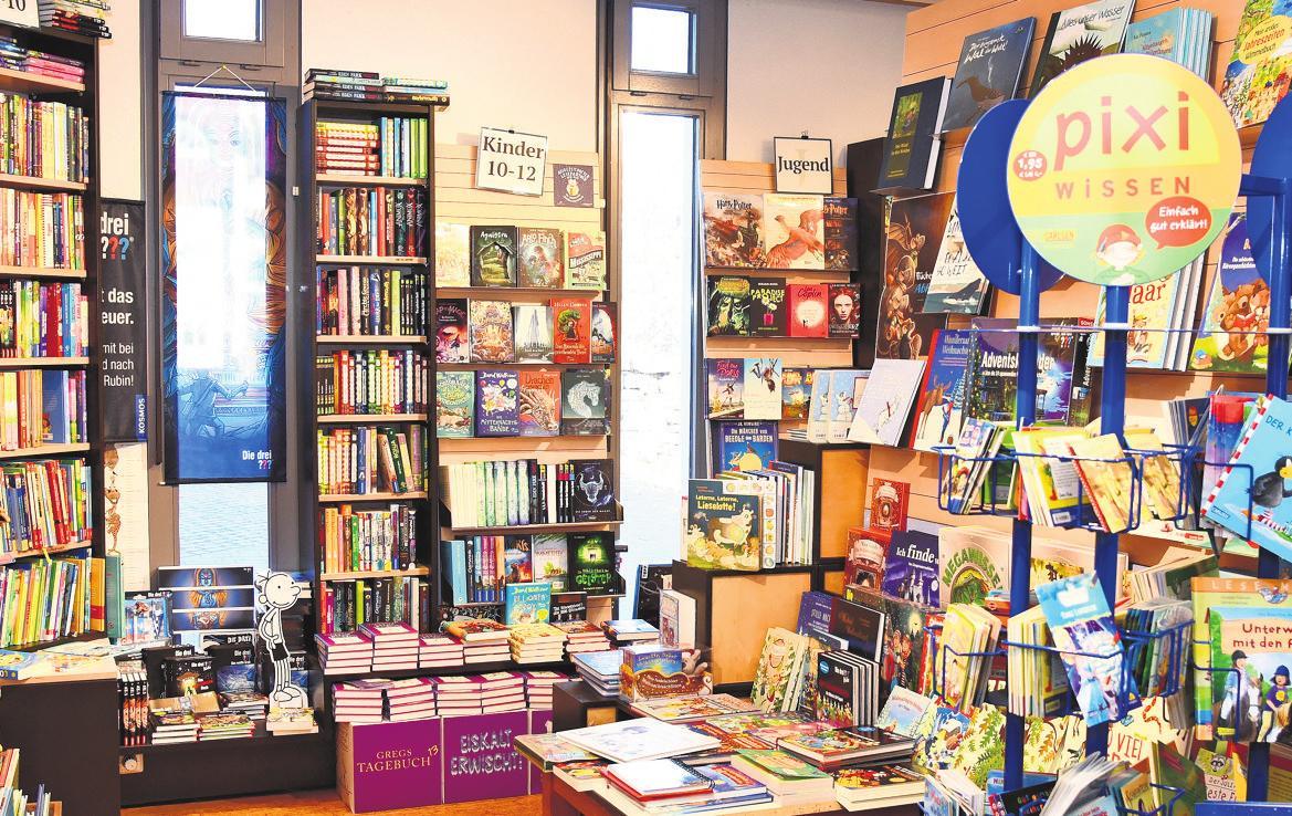 Im Bunten Bücherladen gibt es auch eine Vielzahl an Geschenkideen.