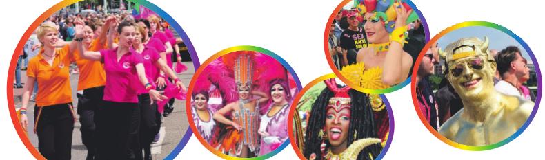 Bei der Parade des Christopher Street Day in Köln werden sich viele Teilnehmer in außergewöhnlichen Outfits präsentieren. Fotos: Max Grönert, Stefan Worring, ZIK, CSD, Colognepride