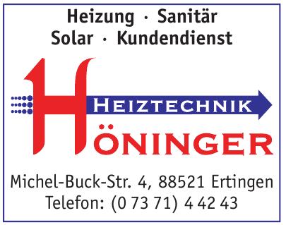 Haustechnik Höninger