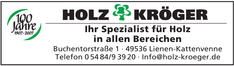 Holz Kröger
