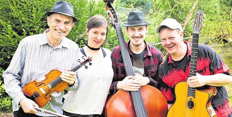 Gypsy Swing orientiert sich an den luftigen Jazzrhythmen Django Reinhardts. Foto: Bockholt