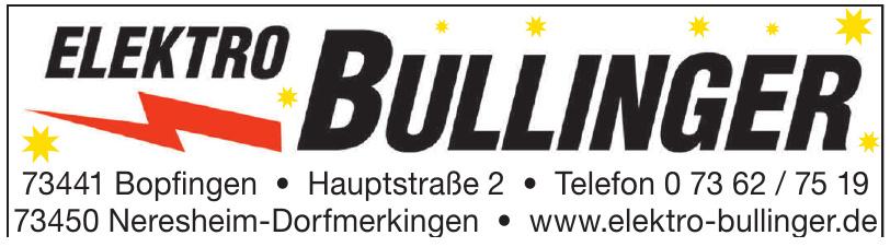 Elektro Bullinger