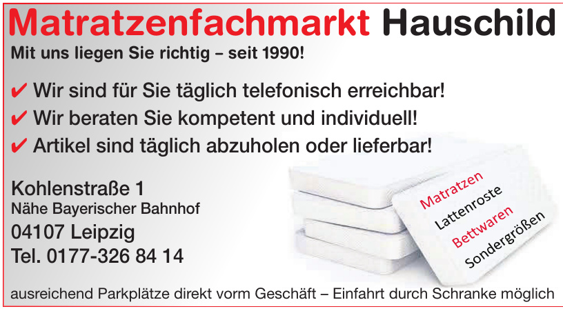 Matratzenfachmarkt Hauschild