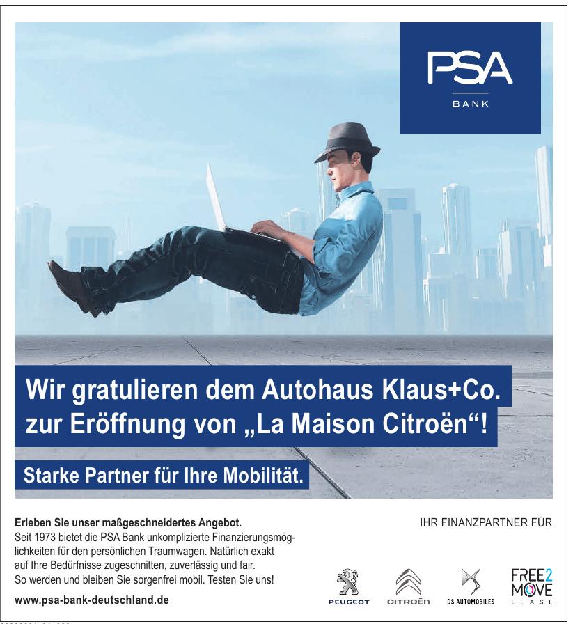PSA Bank Deutschland