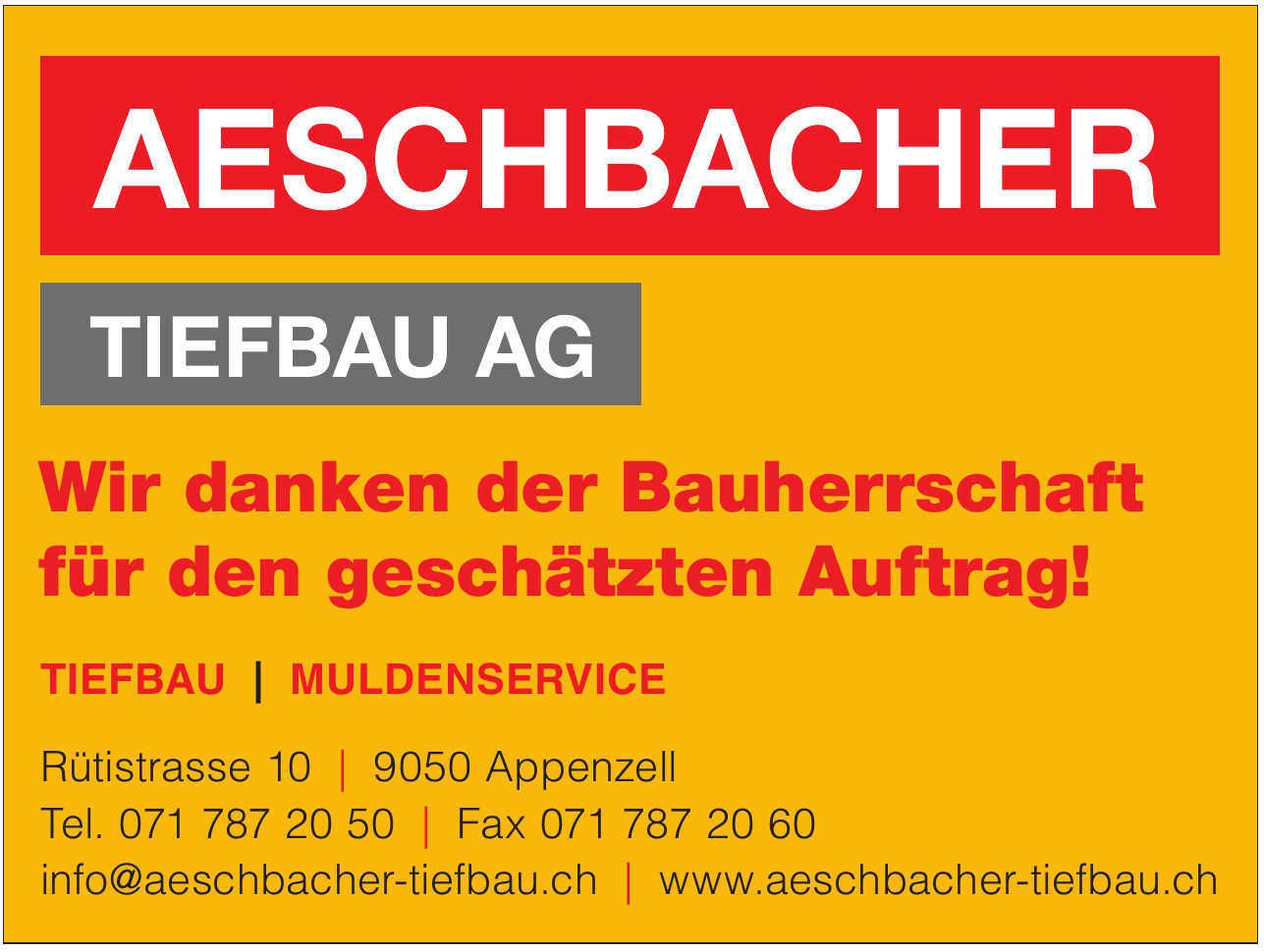 Aeschbacher Tiefbau AG
