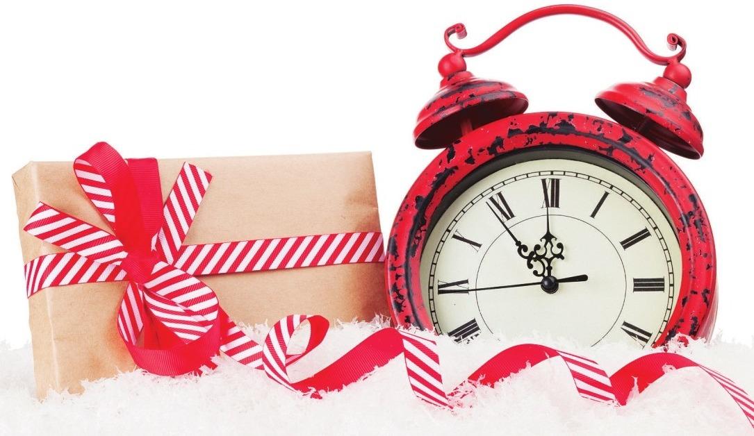 Persönlich und leicht zu verpacken - das Zeit-Geschenk. Foto: Adobe Stock/Karandaev