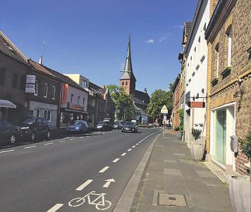 """Dank eines städtischen """"Masterplans"""" soll die Carl-Schurz-Straße attraktiver werden Foto: Kathrin Höhne"""