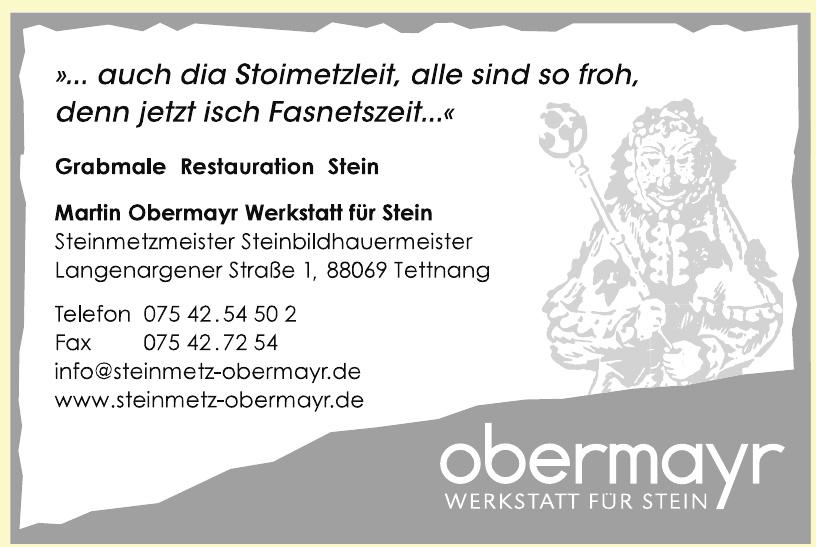 Martin Obermayr Werkstatt für Stein