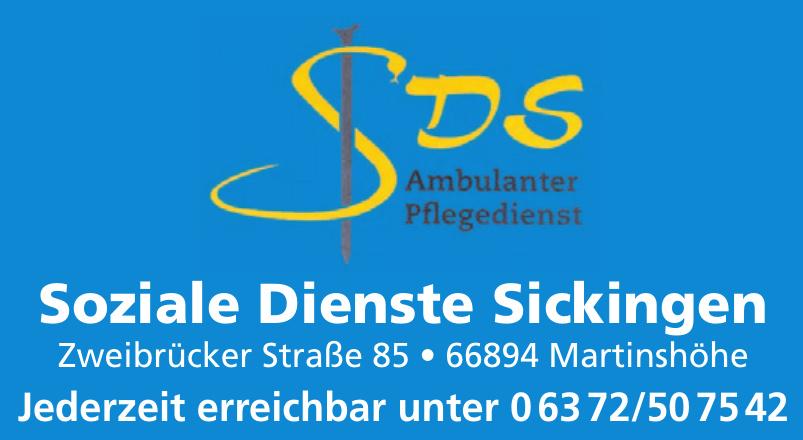 SDS Soziale Dienste Sickingen Ambulanter Pflegedienst