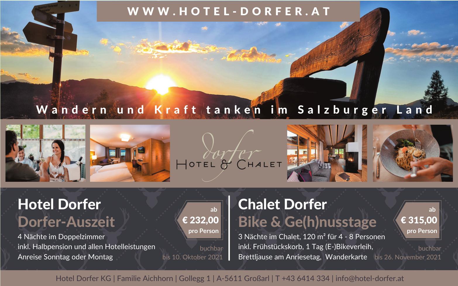 Hotel Dorfer KG