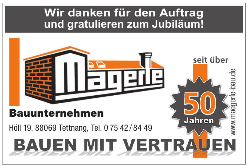 Bauunternehmen Mägerle