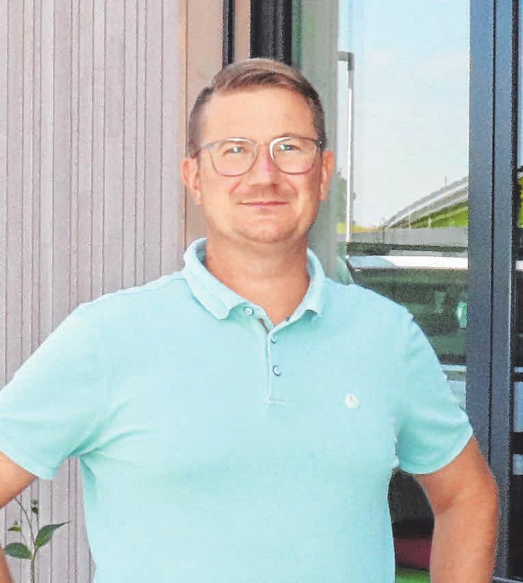 Ortsbaumeiter Jürgen Jehle hat die Baumaßnahme als Vertreter der Gemeinde Fronreute begleitet.