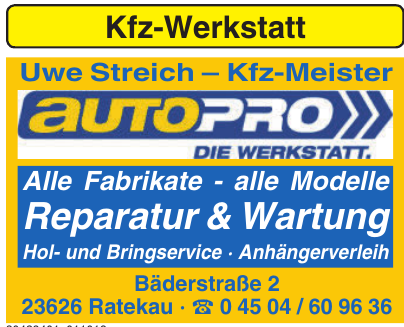 Uwe Streich – Kfz-Meister