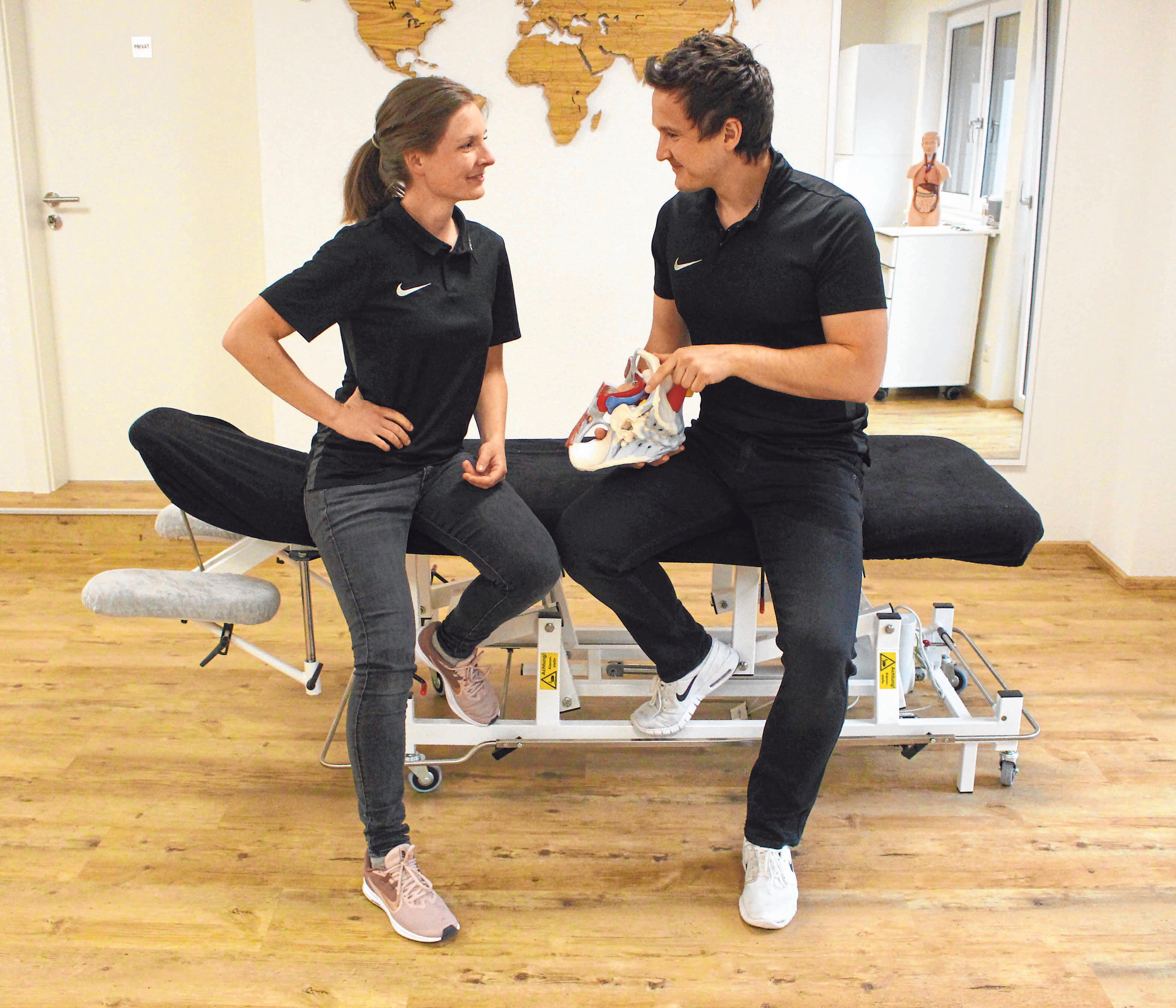 Therapie und Training gehen bei Unique Connect Hand in Hand.