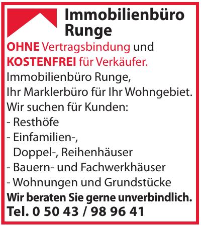 Immobilienbüro Runge