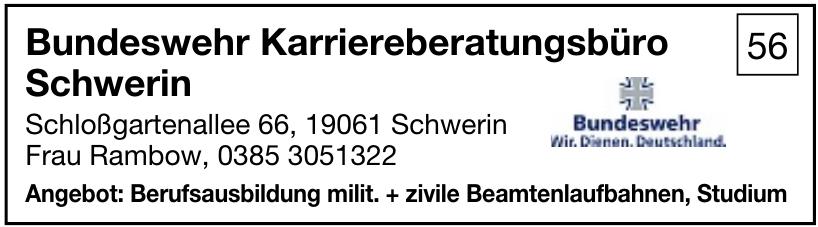 Bundeswehr Karriereberatungsbüro Schwerin