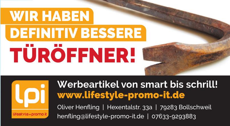 lpi lifestyle + promo it