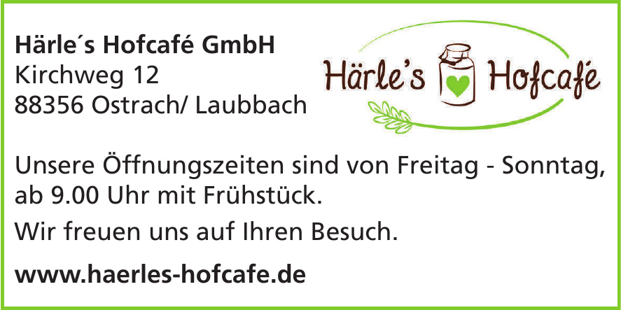 Härle´s Hofcafé GmbH