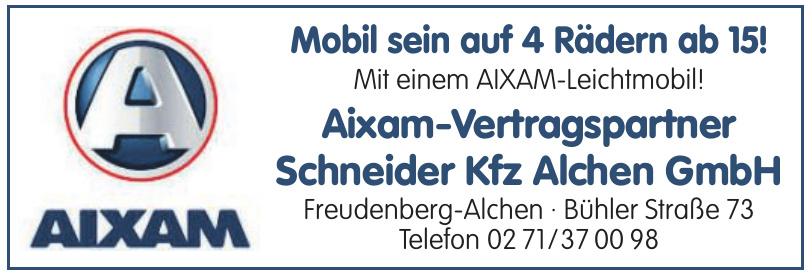 Aixam-Vertragspartner Scheider Kfz Alchen GmbH