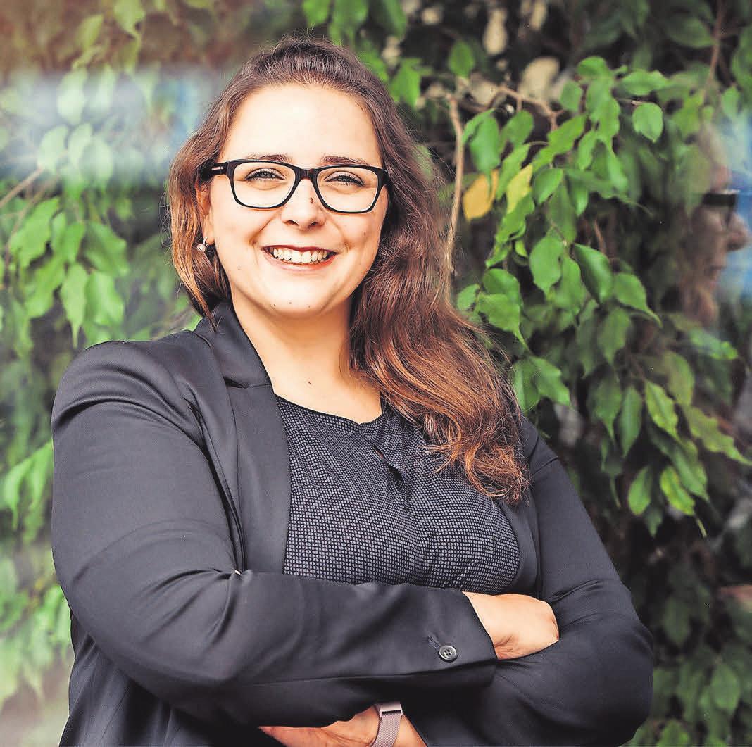Jennifer Schulze ist seit Ende Juni als Mediaberaterin der Madsack Mediengruppe Ansprechpartnerin für Unternehmen in Laatzen.