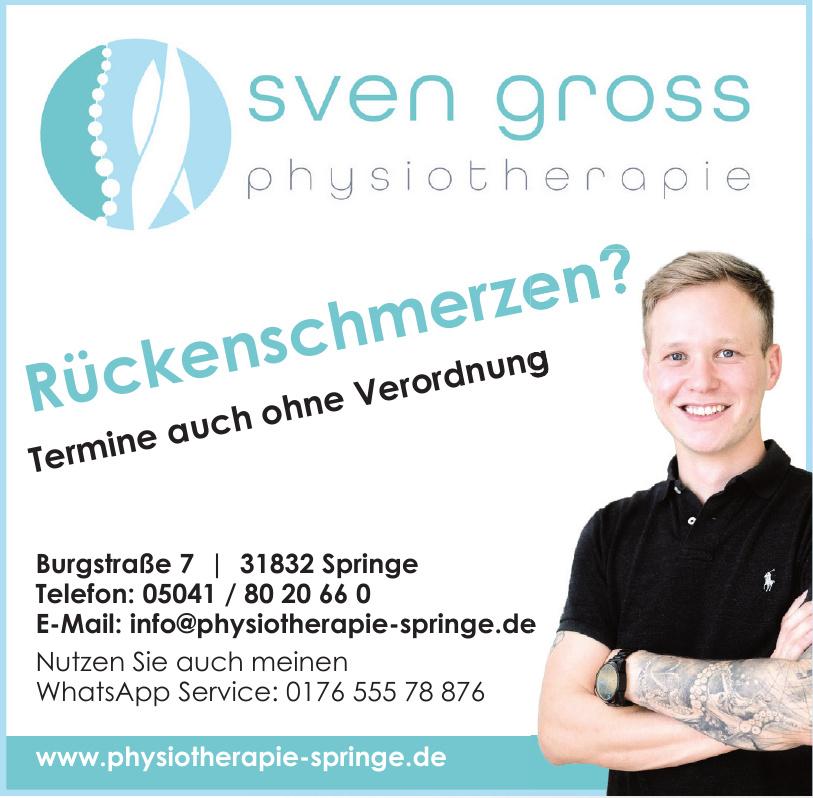 Sven Gross Physiotherapie