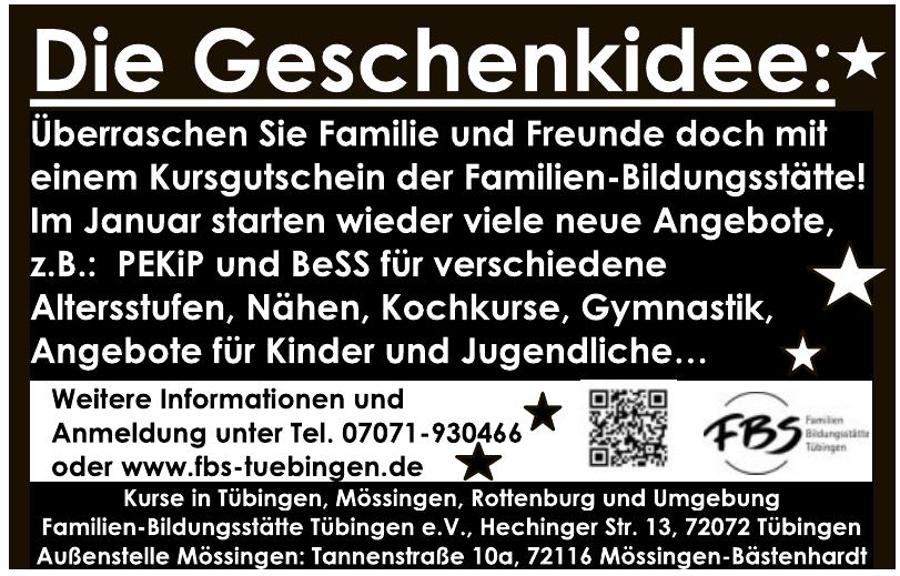 Familien-Bildungsstätte Tübingen
