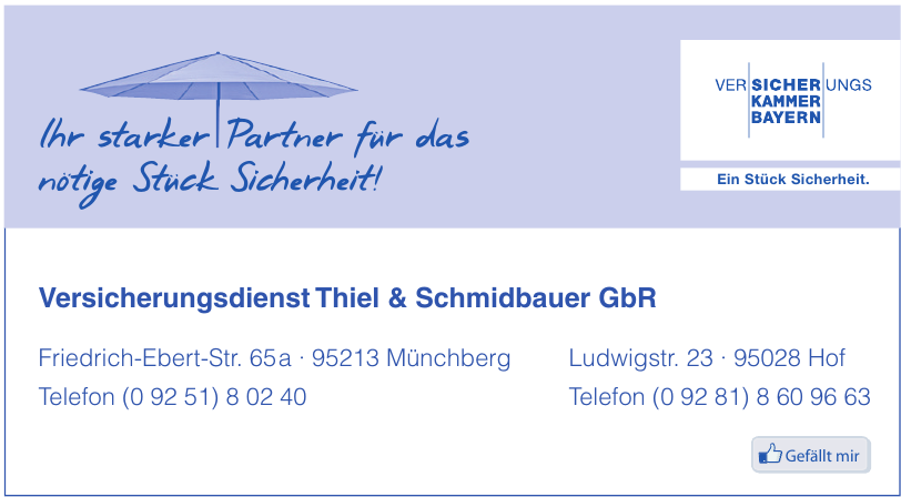 Versicherungsdienst Thiel & Schmidbauer GbR