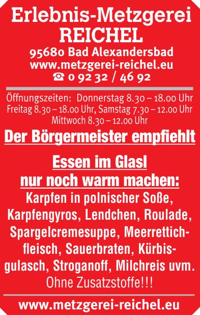 Erlebnis-Metzgerei Reichel