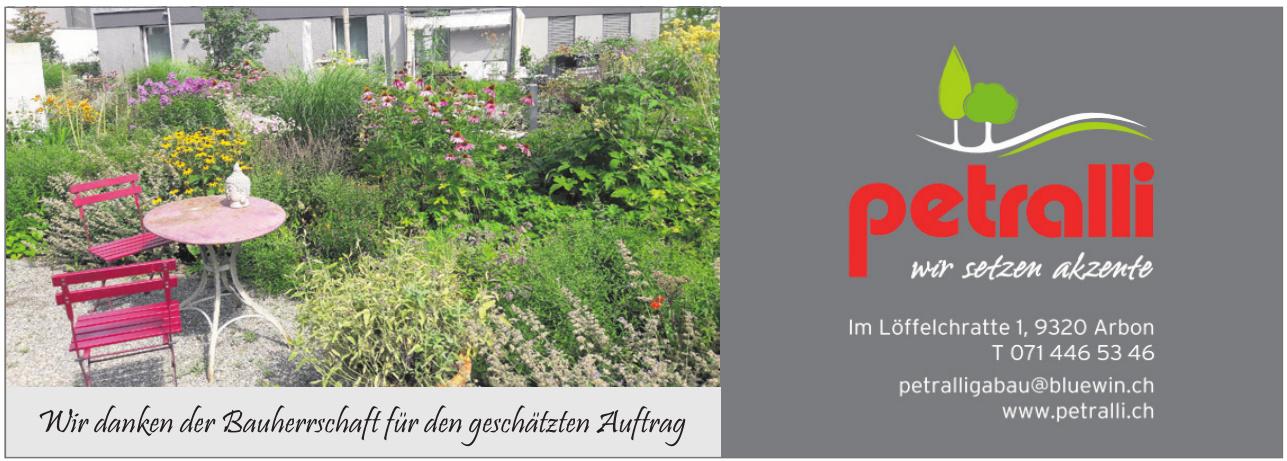 Petralli Gartenbau AG