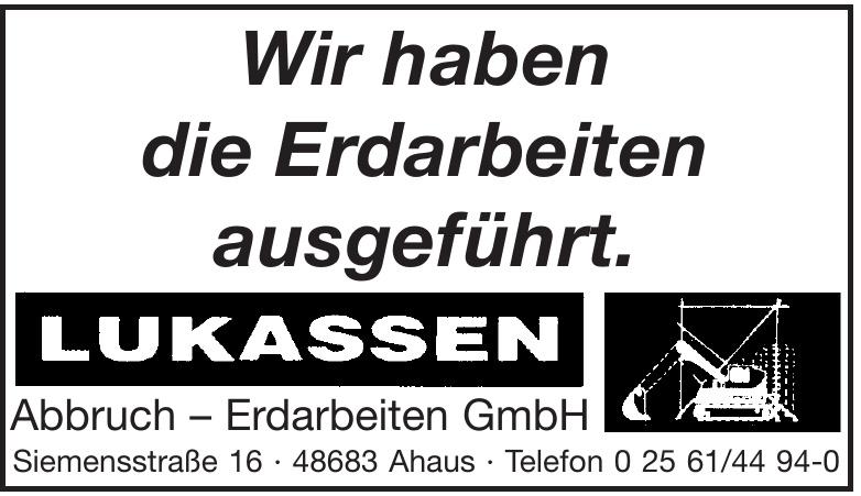 Lukassen Abbruch - Erdarbeiten GmbH