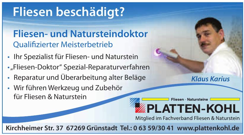 Platten-Kohl GmbH
