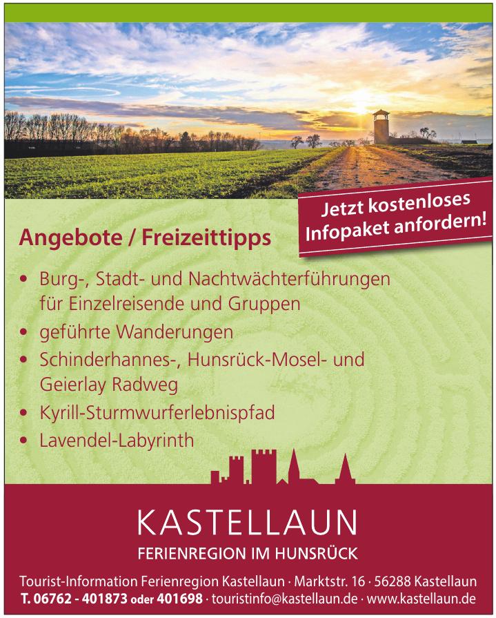 Tourist-Information Ferienregion Kastellaun