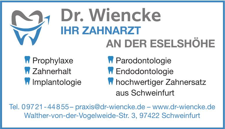 Dr. Wiencke