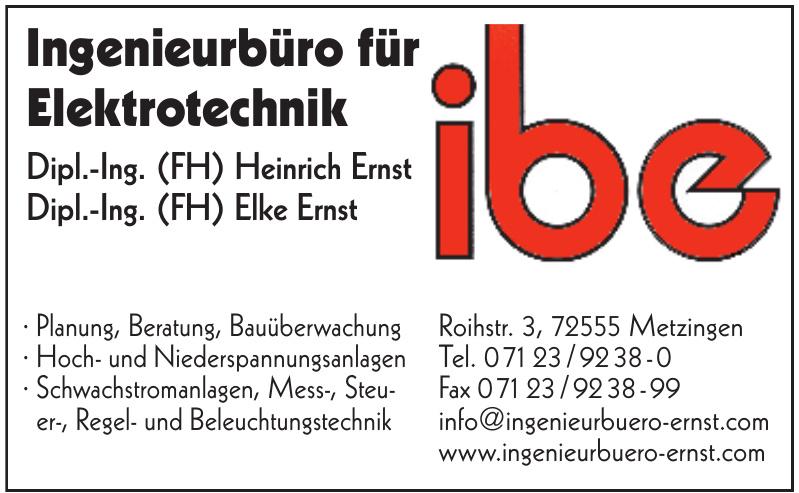 Ingenieurbüro für Elektrotechnik IBE