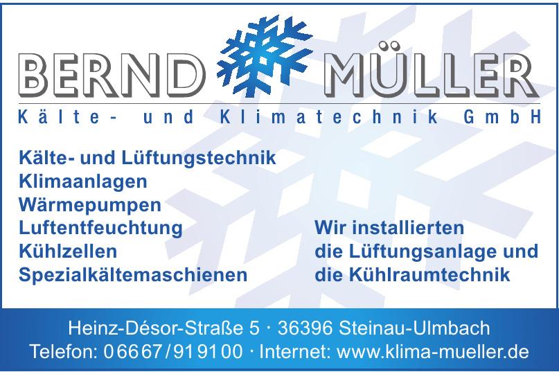 Bernd Müller Kälte- und Klimatechnik GmbH