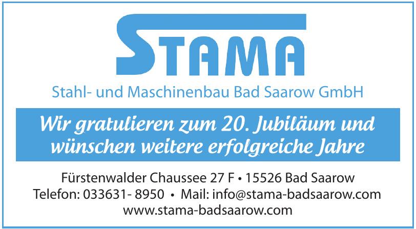 Stahl- und Maschinenbau Bad Saarow GmbH