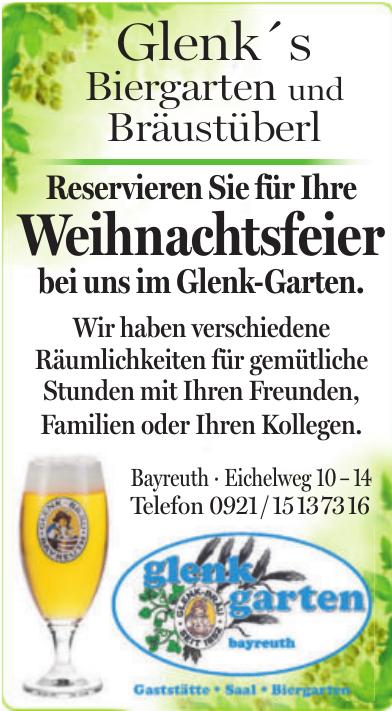 Glenk´s Biergarten und Bräustüberl