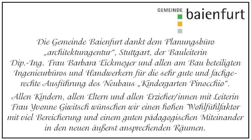 Gemeinde Baienfurt