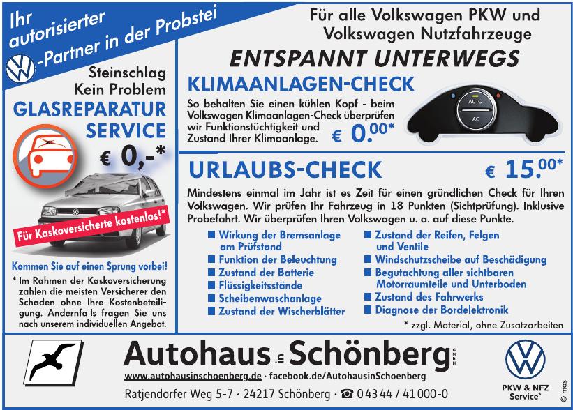 Autohaus in Schönberg GmbH