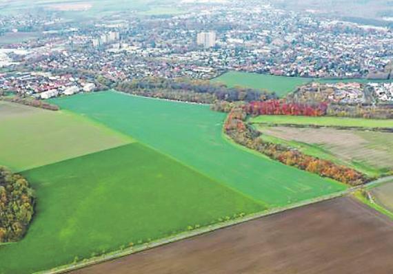 Der Campus soll auf diesem Areal entstehen Bild: Erftstadt